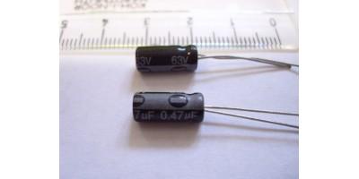 Kondenzátor 0,47µF/63V 5x11