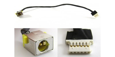 Napájecí konektor s kabelem Acer Aspire E5-722G - 5,5x1,7mm - 6pin