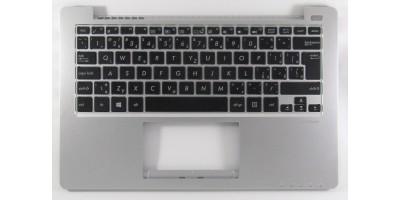 česká klávesnice Asus VivoBook X201 X201E black/silver CZ/SK kryt repro
