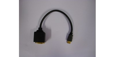 HDMI (M) na HDMI+DVI (F) adapter