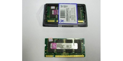 DDR1 512MB RAM 333MHz Kingston pro laptop