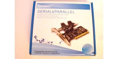 2S-1P port PCI-E 1x karta