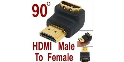HDMI spojka 90°