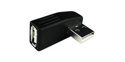 USB AM 90°na USB AF 90° převodník