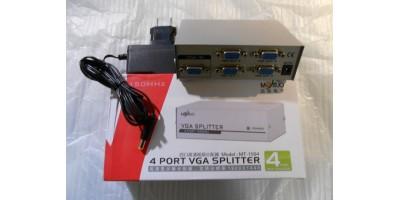 aktivní VGA splitter na 4 monitory